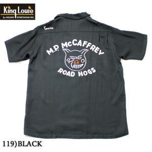 "No.KL37832 KING LOUIE キングルイTen StrikeBOWLING SHIRT ""ROAD HOGS""|junkyspecial"