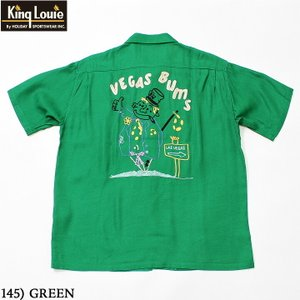 """No.KL38427 KING LOUIE by HolidayBOWLING SHIRT """"VEGAS BUMS""""