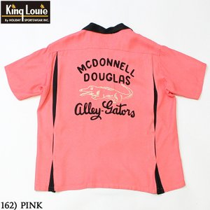 """No.KL38666 KING LOUIE by Holiday BOWLING SHIRT """"ALLEY GATORS""""