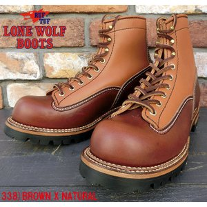 """No.LW00125 LONE WOLF ロン・ウルフVIBRAM SOLE""""LOGGER"""" junkyspecial"""
