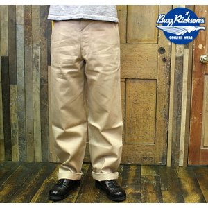 """No.M43036 BUZZ RICKSON'S バズリクソンズEARLY MILITARY CHINOS """"1942 MODEL""""