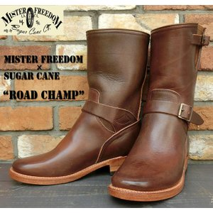 """No.SC01804 MISTER FREEDOM × SUGAR CANEMade in U.S.A. ENGINEER BOOTS""""ROAD CHAMP""""