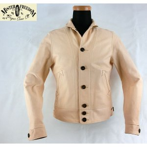 """No.SC80407(SC80356) MFSC ミスターフリーダムMade in U.S.A.""""COWHIDE LEATHER CAMPUS JACKET""""