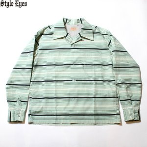 """No.SE28338 STYLE EYES スタイルアイズBROAD COTTON SPORTS SHIRT""""MULTI STRIPES""""