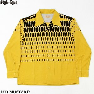 """No.SE28532 STYLE EYES スタイルアイズCORDUROY SPORTS SHIRT""""ELVIS DOTS""""