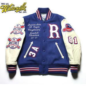 "No.WV14214 WHITESVILLE ホワイツビル30oz. Wool Melton Award Jacket""ROUGHRIDERS""|junkyspecial"