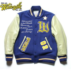 "No.WV14216 WHITESVILLE SPECIAL AWARD JACKET30oz. Wool Melton Award Jacket""WHITESVILLE""|junkyspecial"
