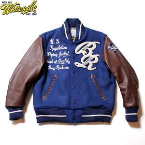 "No.WV14462 WHITESVILLE × BUZZ RICKSON'S30oz. Wool Melton Award Jacket"" BUZZ RICKSON'S ""|junkyspecial"