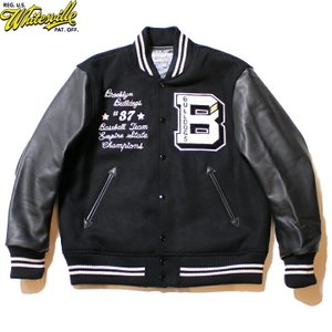 "No.WV14474 WHITESVILLE ホワイツビル30oz. Wool Melton Award Jacket"" BULLDOGS ""|junkyspecial"