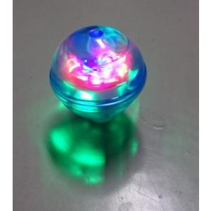 光るコマ サッカーボール 3色アソート 24個入 Pegtop