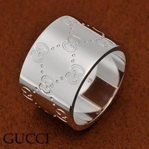 グッチ 073234-09850/9000/16 リング K18WGホワイトゴールド 指輪 GUCCI|juraice