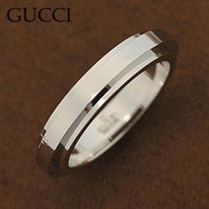 グッチ 092442-09850/9000/11 リング K18WGホワイトゴールド 指輪 GUCCI|juraice