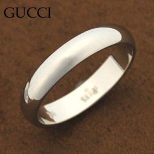 グッチ 094255-08410/9000/16 950プラチナ リング 指輪 GUCCI|juraice