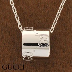 グッチ 100885-J8500/9000 ネックレス K18WGホワイトゴールド GUCCI|juraice