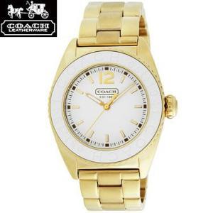 COACH コーチ 14501402 アンディー ホワイト×ゴールド 腕時計 ウォッチ レディース|juraice
