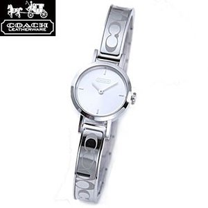 COACH コーチ 14501438 ニュー シグネチャー ステューディオ ブレスタイプ シルバー 腕時計 ウォッチ レディース|juraice