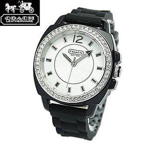 COACH コーチ 14501475 ボーイフレンド クリスタル カーライル ブラック 腕時計 ウォッチ レディース|juraice