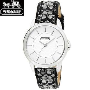 COACH コーチ 14501524 ニュー クラシック シグネチャー ブラック 腕時計 ウォッチ レディース|juraice