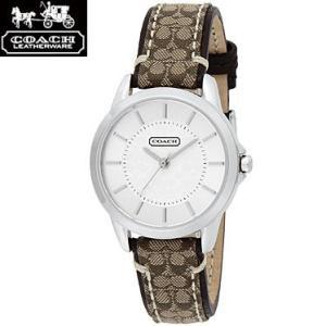 COACH コーチ 14501525 ニュー クラシック シグネチャー ブラウン 腕時計 ウォッチ レディース|juraice