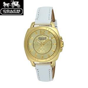 COACH コーチ 14501600 ボーイフレンド ミニ ホワイト 腕時計 ウォッチ レディース|juraice