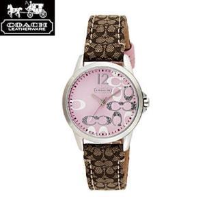 COACH コーチ 14501621 ニュー クラシックシグネチャー ピンク×シルバー 腕時計 ウォッチ レディース|juraice