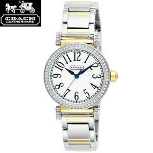 COACH コーチ 14501725 マディソン ファッション ホワイト×シルバー 腕時計 ウォッチ レディース|juraice