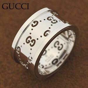 グッチ 201985-J8500/9000 リング  指輪  GUCCI K18WG  ホワイトゴールド|juraice