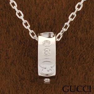 グッチ 214164-J8540/9066 ネックレス ダイヤモンド ペンダント GUCCI ホワイトゴールド|juraice
