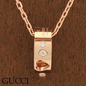 グッチ 214164-J8540 5702 ネックレス ダイヤモンド ペンダント GUCCI ピンクゴールド|juraice