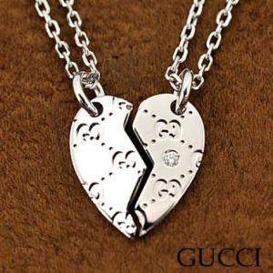 グッチ 214179-J8540/9066 ネックレス ダイヤモンド K18WGホワイトゴールド  GUCCI juraice
