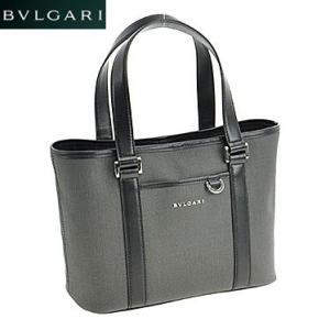 BVLGARI ブルガリ 32412 CANVAS/BLK 手提げバッグ|juraice