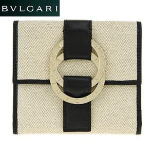 BVLGARI ブルガリ 33371 ダブルホック財布|juraice