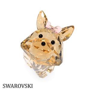 スワロフスキー 5063332 Puppy Dixie ヨークシャーテリア 犬  置物 インテリア Swarovski SWAROVSKI|juraice