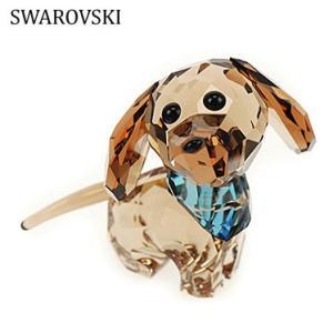 スワロフスキー 5063336 Puppy Dixie ダックスフンド 犬  置物 インテリア Swarovski SWAROVSKI|juraice