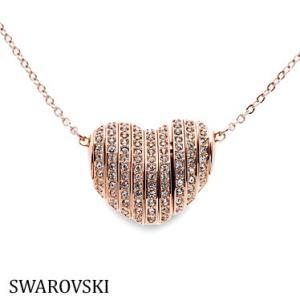 スワロフスキー 5181465 ハート ピンクゴールド ネックレス Swarovski SWAROVSKI|juraice