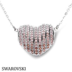 スワロフスキー 5181467 ハート シルバー ネックレス Swarovski SWAROVSKI|juraice
