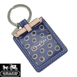 コーチ 66317/SVBTA キーリング ブルー×ピンク フローラル ピクチャーフレーム キーホルダー COACH sale|juraice
