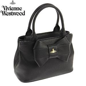 ヴィヴィアンウエストウッド 6989V-BOW/BLK 手提げバッグ ハンドバッグ Vivienne Westwood|juraice