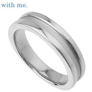 指輪 メンズ ペアリング with me ウィズミー SV925 ロジウムコーティング シルバー925 プレゼント sale|juraice