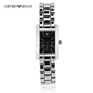 送料無料 エンポリオ・アルマーニ レディース AR0170 クラシック スモールセコンド / ブラック  腕時計|juraice