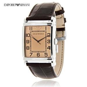 送料無料 エンポリオ・アルマーニ AR0402  クラシック レザー / ブラウン メンズ   腕時計 juraice