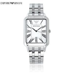 送料無料 エンポリオ・アルマーニ AR0427 クラッシク / シルバー メンズ  腕時計 juraice