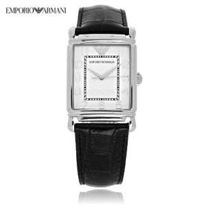 送料無料 エンポリオ・アルマーニ AR0433 クラシック レザー / ホワイト メンズ  腕時計 juraice