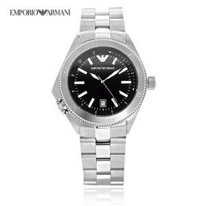 送料無料 エンポリオ・アルマーニ AR0560 スポーツ / ブラック メンズ  腕時計 juraice