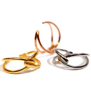 branche ブランシェ リング 指輪 2連風 シンプル サージカル ステンレス 金属アレルギー対応 レディース メンズ プレゼント ギフト インスタ|juraice