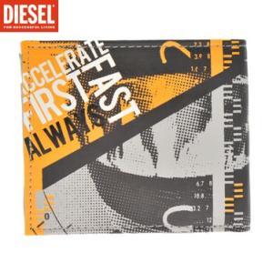 財布 ディーゼル DIESEL X00132-PR003 H2373 二つ折り財布(小銭入れ付)|juraice