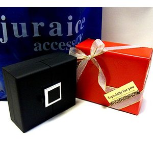 プレゼント ネックレス ラッピング ギフト ジュエリー アクセサリー ボックス 包装|juraice