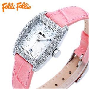 フォリフォリ S922ZI SLV/PNK 腕時計 Folli Follie juraice