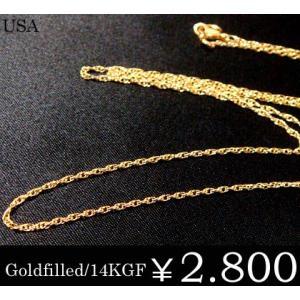 ゴールド チェーン K14 ロープ レディース 細 Goldfilled ju8 年度末 sale|juraice