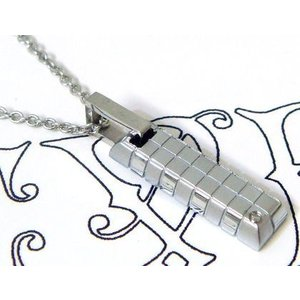 ネックレス ダイヤモンド シルバー メンズ レディース ユニセックス ステンレス ブランド EVE sale|juraice
